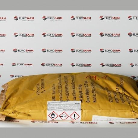 Perkarbonát sodný pytel 25 kg - etiketa